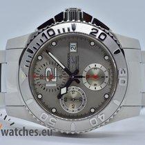 Longines HydroConquest Stahl 41mm Silber Arabisch Deutschland, Iffezheim