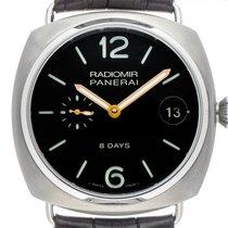 Panerai Radiomir 8 Days Titanium 45mm Zwart Arabisch
