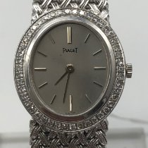 Piaget White gold 25mm Manual winding pre-owned