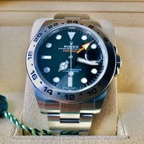 Rolex Explorer II Steel 42mm Black No numerals