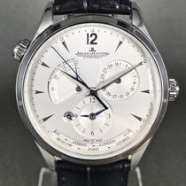 Jaeger-LeCoultre Master Geographic Acero 39mm Plata Sin cifras