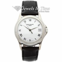 Patek Philippe Calatrava White gold 37mm White Roman numerals United States of America, Florida, 33431