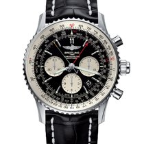 Breitling Navitimer Rattrapante Steel 45mm Black United States of America, New York, NY