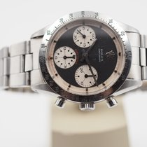 Rolex Daytona Acél 37mm Fehér Számjegyek nélkül