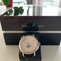 Maurice Lacroix Masterpiece new 2008 Manual winding Watch with original box and original papers MP7078-SS001-120