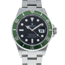 Rolex Submariner Date 16610LV Good Steel 40mm Automatic