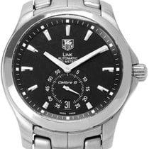 TAG Heuer Steel Automatic 39mm pre-owned Link Calibre 6