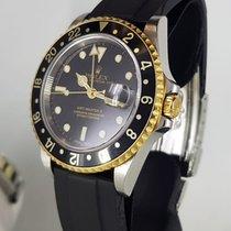 Rolex GMT-Master II Or/Acier 40mm Noir Sans chiffres France, Paris