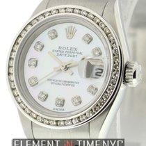 Rolex Lady-Datejust Zeljezo 26mm Sedef-biserast