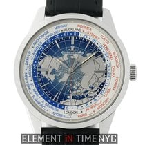 Jaeger-LeCoultre Geophysic Universal Time Steel 42mm Blue