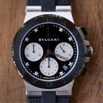Bulgari Diagono Stal 37mm