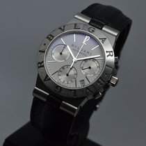 Bulgari Diagono 35mm Automatic Chronograph White Dial CH35S