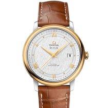 歐米茄 8DAYwatch-New 424.23.40.20.02.001 DE VILLE GOLD AND STEEL