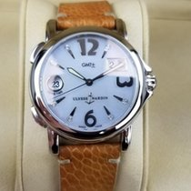 Ulysse Nardin pre-owned Automatic 37mm Mother of pearl Sapphire Glass 10 ATM