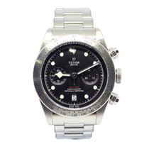 Tudor Heritage Black Bay Chronograph Ref. 79350  Stainless Steel