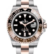 Rolex GMT-Master II Gold/Steel 40mm Black No numerals United States of America, California, Los Angeles