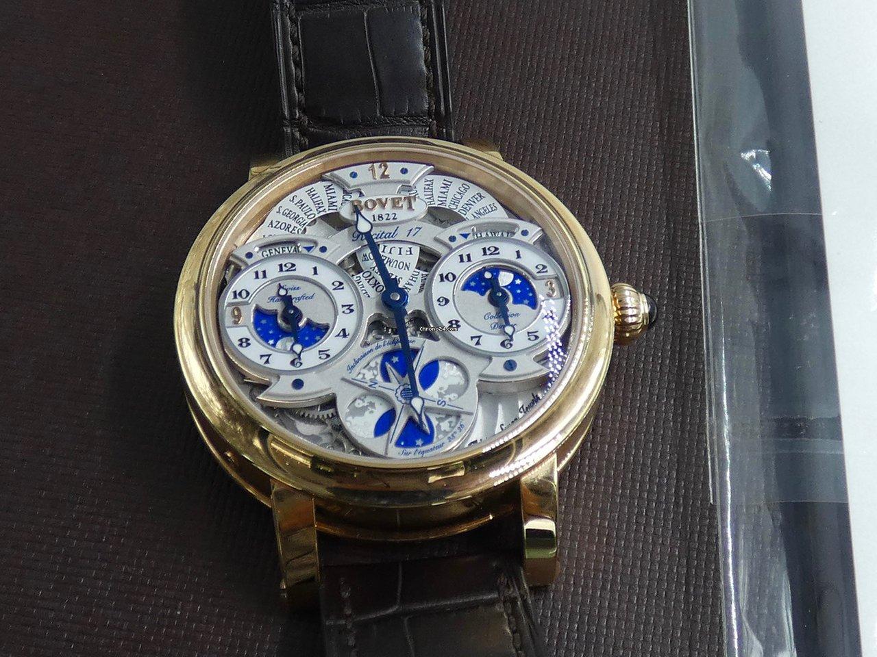 come scegliere negozio online altamente elogiato Bovet World Time GMT Recital 17 LTD 003/100