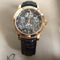 Jaeger-LeCoultre Master Eight Days Perpetual Roségold 41.5mm Transparent