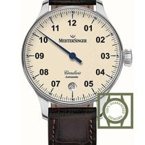 Meistersinger Steel 43mm Automatic CC903 new