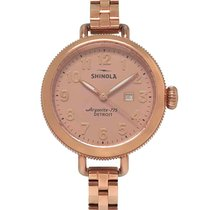 Shinola Steel 34mm Quartz S0110000209 new