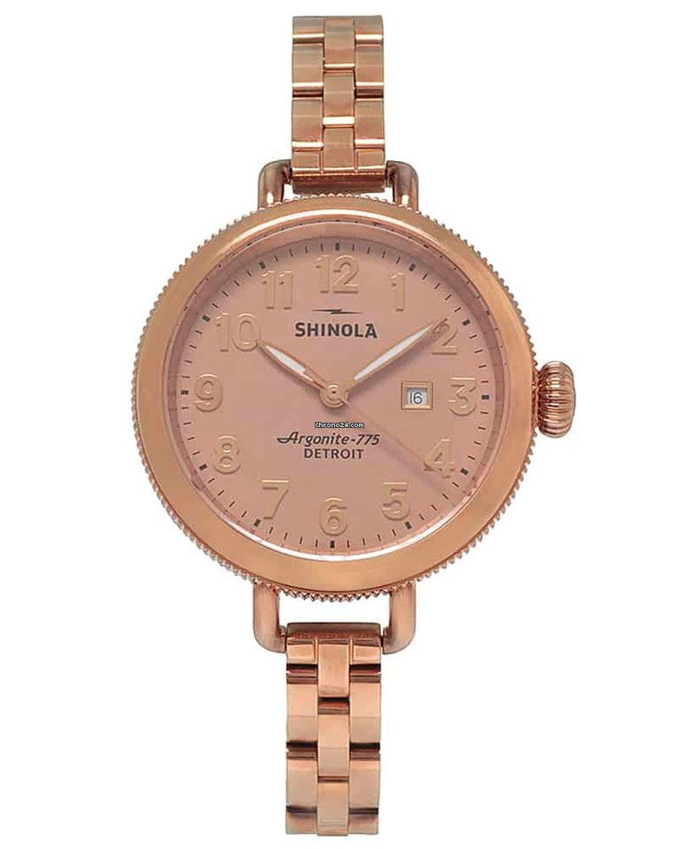 Ladies Watch Birdy Coated Stainless S0110000209 Shinola The Quartz Steel 34mm Pvd 0wXN8knOP