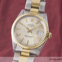 Rolex Oyster Perpetual Date gebraucht 34mm Gold/Stahl