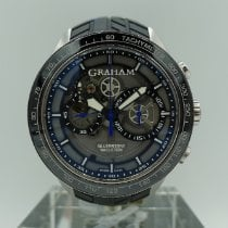 Graham Steel 46mm Automatic Silverstone RS pre-owned United States of America, California, Fresno