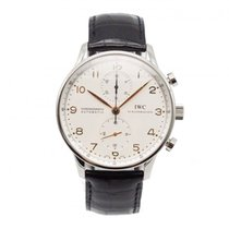 IWC Portuguese Chronograph Steel 42mm White