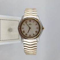 Ebel Sport Gold/Steel 27mm Mother of pearl Roman numerals