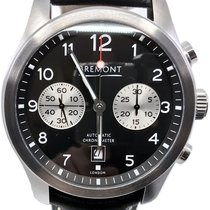 Bremont Steel Automatic Black Arabic numerals 43mm pre-owned ALT1-C Classic