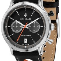 Maserati Steel 42mm Quartz R8851138003 new