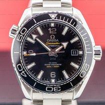 Omega Seamaster Planet Ocean Steel 43.5mm Arabic numerals