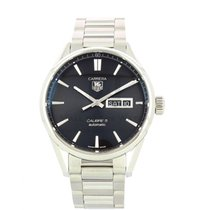 TAG Heuer Carrera Calibre 5 Steel 41mm Black