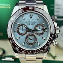 Rolex Daytona pre-owned 40mm White Chronograph Steel