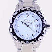 Glashütte Original Senator Automatic Acier 41.5mm Blanc Sans chiffres