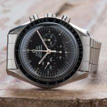 Omega Speedmaster Professional Moonwatch Zeljezo 41mm Crn Bez brojeva