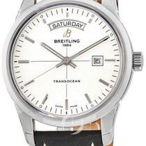 Breitling Transocean Day & Date A4531012/G751-435X new