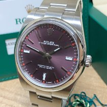 Rolex Oyster Perpetual 39 Steel 39mm Purple No numerals United Kingdom, Wilmslow