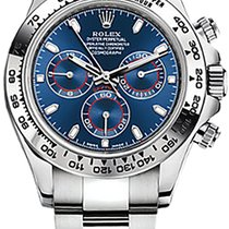 Rolex Daytona White gold 40mm Blue Arabic numerals