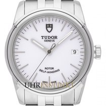 Tudor Glamour Date Сталь 36mm Белый