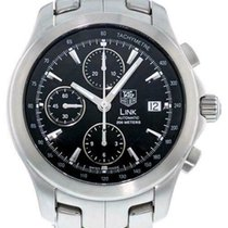 TAG Heuer Link Calibre 16 Steel 42mm Black United States of America, North Carolina, Charlotte