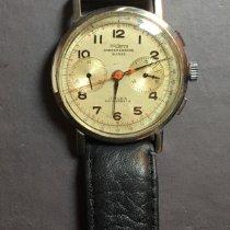 Chronographe Suisse Cie Argent 39mm Remontage manuel occasion