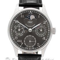 IWC IW502218 White gold 2009 Portuguese Perpetual Calendar 42.3mm pre-owned