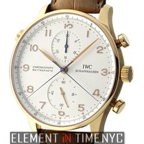 IWC Portuguese Collection Split Second Chronograph 18k Rose Gold