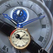 De Bethune DB25 Collection Spherical Moon-Phase in Rose Gold