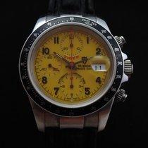 Tudor Tiger Prince Date Stahl 40mm Gelb Arabisch