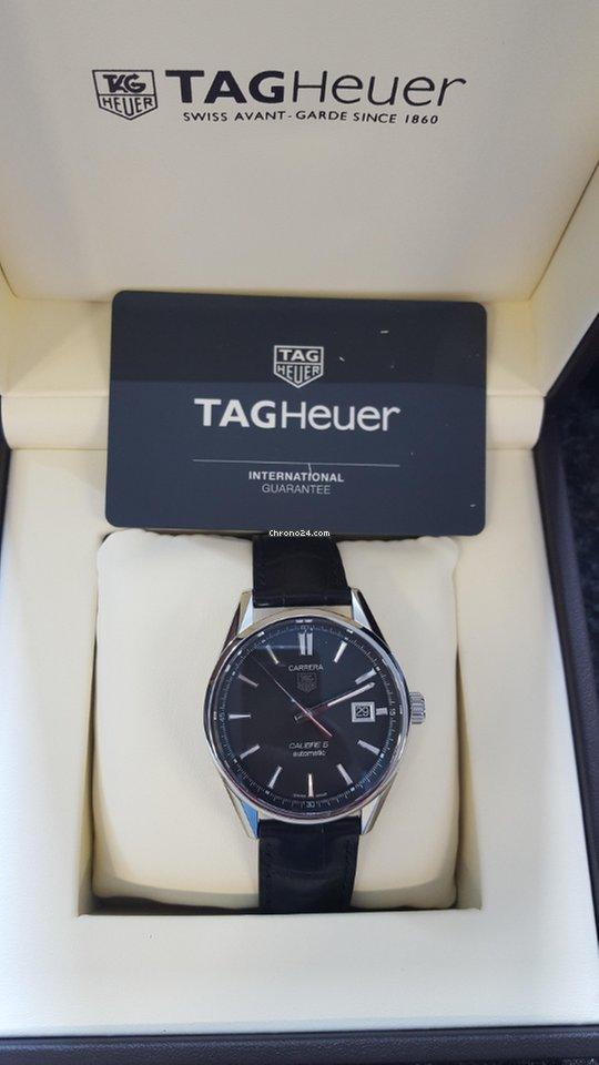 TAG Heuer Carrera Calibre 5 WAR211A.FC6180 2021 new