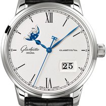 Glashütte Original Senator Excellence Steel 40mm Silver United States of America, New York, Airmont