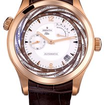 Zenith Elite pre-owned 44mm Date Leather