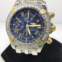 Breitling Chronomat Evolution Diamond Men's Watch B1335653 New...